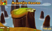 Hole 16 of Mountain Course in Mario Golf: World Tour