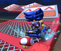 The Ludwig Cup Challenge from the Mario Bros. Tour of Mario Kart Tour