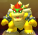 Bowser as viewed in the Character Museum from Mario Party: Star Rush