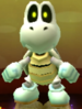 Mega Dry Bones as viewed in the Character Museum from Mario Party: Star Rush
