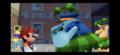 SM3DAS Isle Delfino Police talking to Mario.png