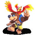 Banjo & Kazooie artwork for Super Smash Bros. Ultimate