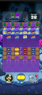 Stage 511 from Dr. Mario World