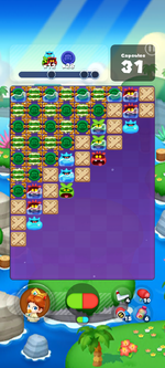 Stage 611 from Dr. Mario World