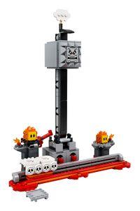 The LEGO Super Mario Thwomp Drop Expansion Set.