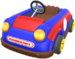 The Red Kiddie Kart from Mario Kart Tour