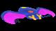 Swooper glider from Mario Kart Tour