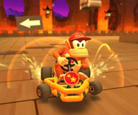 The icon of the Bowser Cup challenge from the 2020 Halloween Tour in Mario Kart Tour
