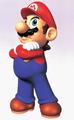 Mario Hands Crossed Artwork - Super Mario 64.png