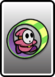 A Pink Roller Guy card from Paper Mario: Color Splash