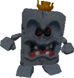 Whomp King in the game Super Mario 64 DS.