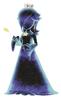 Artwork of the Cosmic Spirit from Super Mario Galaxy 2
