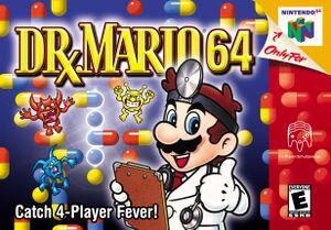 Box art for Dr. Mario 64