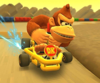 The icon of the Bowser Cup challenge from the 2020 Winter Tour in Mario Kart Tour