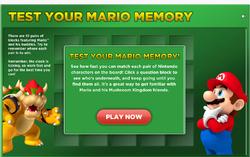 Screenshot of Mario Memory