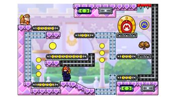 Miiverse screenshot of the 27th official level in the online community of Mario vs. Donkey Kong: Tipping Stars