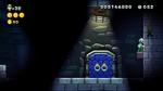 Luigi sighting in Lemmy's Lights-Out Castle from New Super Luigi U