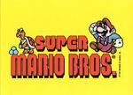 The Super Mario Bros. logo sticker from the Nintendo Game Pack tip card #9