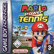 Mario Tennis: Power Tour cover