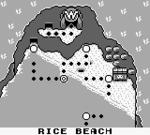 Rice Beach from Wario Land: Super Mario Land 3.