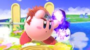 Kirby with Ganondorf's copy ability