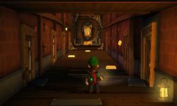 The Transportation Hall segment from Luigi's Mansion: Dark Moon.