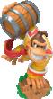 Turbo Charge Donkey Kong figurine