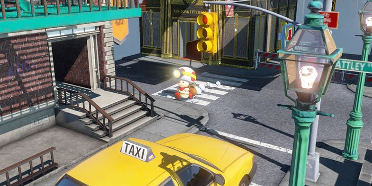 Picture shown with the sixth question in Captain Toad: Treasure Tracker Fun Quiz
