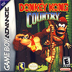 The Game Boy Advance cover of Donkey Kong Country