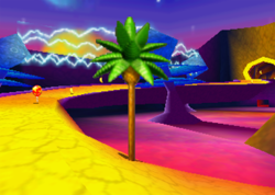 Spacedust Alley, from Diddy Kong Racing.