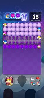World 30's Special Stage from Dr. Mario World