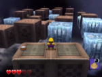 One of Horror Manor's red diamond sub-levels from Wario World.