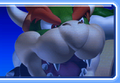 Bowser's icon from Mario Kart Arcade GP 2