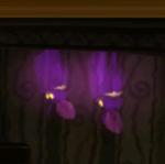 Purple Bats in the game Luigi's Mansion.