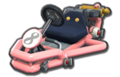 Thumbnail of a pink Pipe Frame (with 8 icon), in Mario Kart 8.