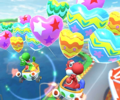 The icon of the Daisy Cup challenge from the 2021 Yoshi Tour in Mario Kart Tour