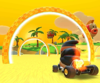 The icon of the Mario Cup challenge from the 2021 Los Angeles Tour in Mario Kart Tour.