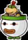 A Paper Bowser Jr.'s battle sprite from Mario & Luigi: Paper Jam.