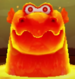 Magmaargh as viewed in the Character Museum from Mario Party: Star Rush