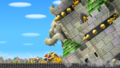 NSMBW Bowser's Castle Falling Over.png