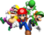 Group artwork used on the Super Mario 64 DS box art.