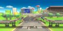 Brawl's Mario Circuit in Super Smash Bros. for Wii U