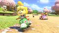 Animal Crossing MK8 DLC spring shot.png
