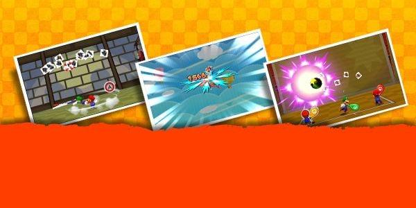 Banner for a Play Nintendo opinion poll on Trio Attacks from Mario & Luigi: Paper Jam. Original filename: <tt>2x1-MLPJ_trio_attack_LOUyyeR.0290fa9874e6c2e6db1c3f61b1e85eb024429302.jpg</tt>