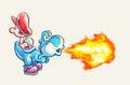 Blue Yoshi Artwork - Yoshi's New Island.jpg