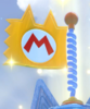 A Cat Flag in Bowser's Fury.