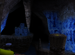 Crystal Caves overworld.