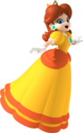 Mario Party 8 artwork: Princess Daisy