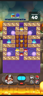 Stage 402 from Dr. Mario World