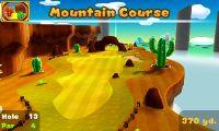 Hole 13 of Mountain Course in Mario Golf: World Tour